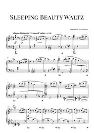 Tchaikovsky: Sleeping Beauty Waltz (Advanced Intermediate Piano)