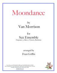 Moondance for Sax Ensemble
