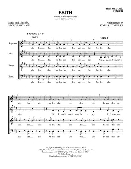 Faith (arr. Kohl Kitzmiller)