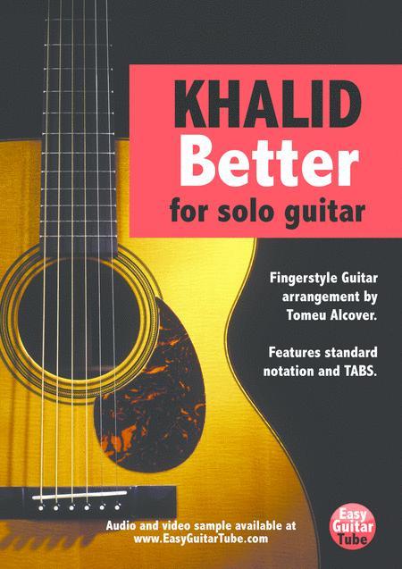 Better (Fingerstyle Guitar)