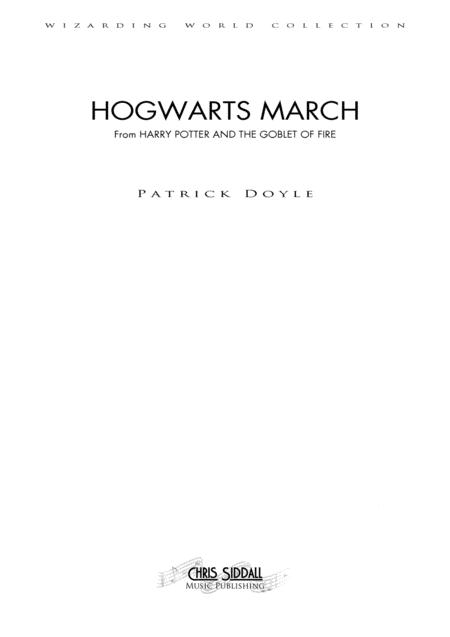 HOGWARTS MARCH from Harry Potter and the Goblet of Fire