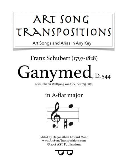 Ganymed, D. 544 (A-flat major)