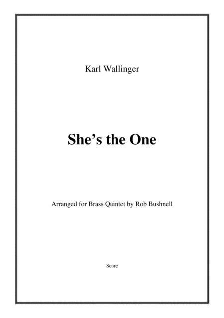 She's The One (Robbie Williams) - Brass Quintet