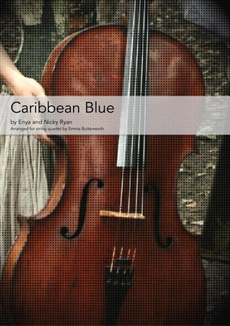 Caribbean Blue for string quartet
