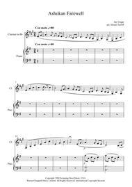 Ashokan Farewell – Clarinet & Piano