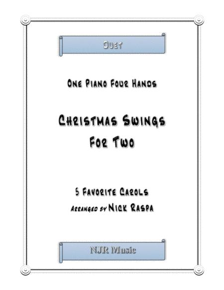 Christmas Swings for Two (1 piano 4 hands) intermediate