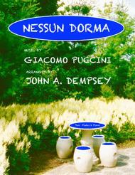 Nessun Dorma (Trio for Two Flutes and Piano)