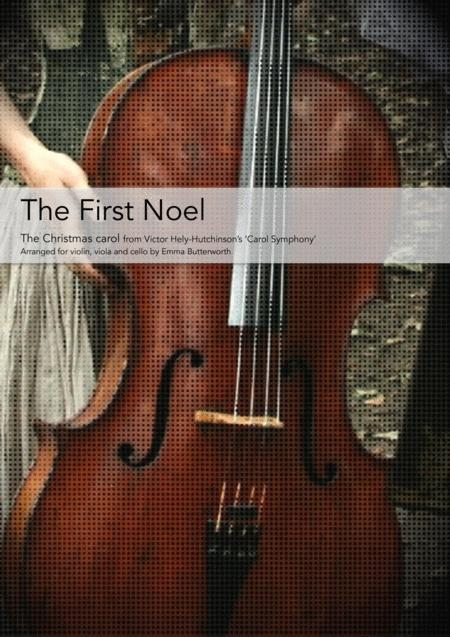 The First Noel for violin, viola & cello