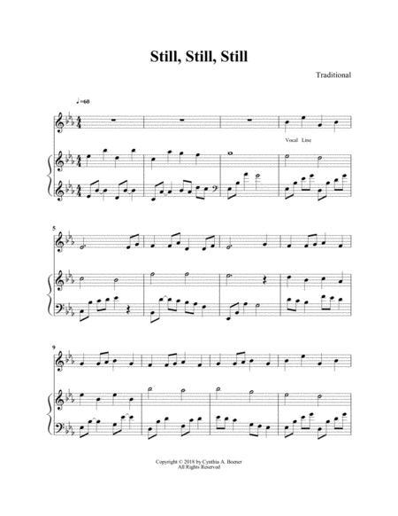 still, still, still arranged for harp and flute by gustav holst (1874-1934)  - digital sheet music for score - download & print s0.467101 | sheet music  plus  sheet music plus