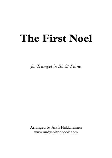 The First Noel - Trumpet & Piano