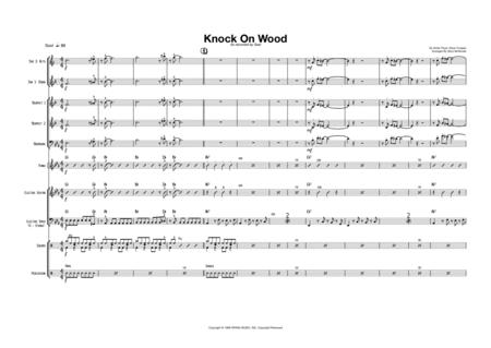 Knock On Wood - Male Vocal with Small Band (3-5 horns) Key of Eb