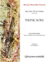 LES COURANTES - Dances CLXXXIII (183) and CLXXXVIII (188) from Terpsichore (Praetorius) for Wind Instruments