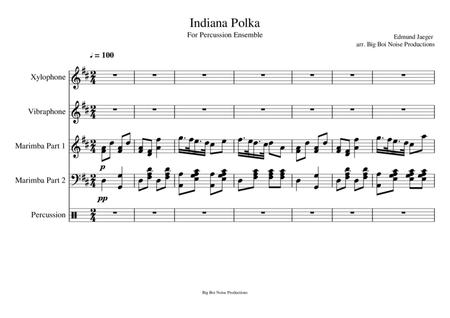 Indiana Polka For Percussion