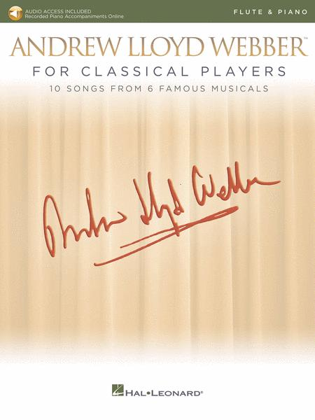 Andrew Lloyd Webber for Classical Players - Flute and Piano