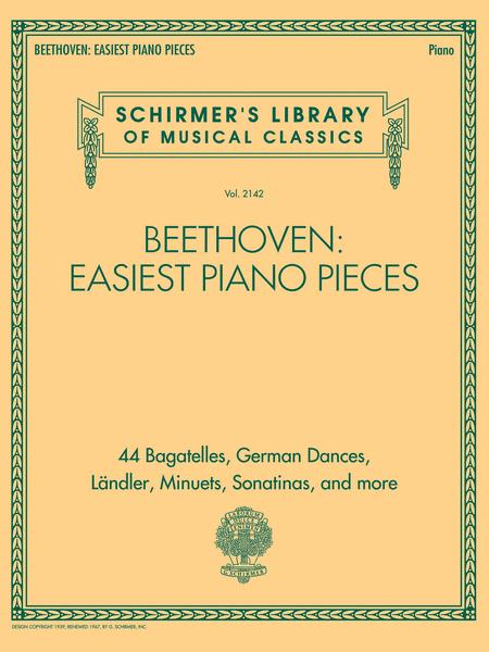 Beethoven: Easiest Piano Pieces