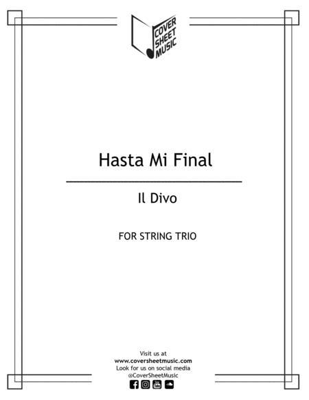 Hasta Mi Final String Trio