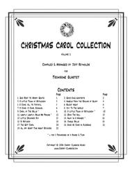 Christmas Carol Collection, Vol.1 for Trombone Ensemble