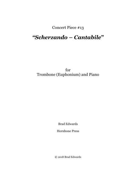 Concert Piece #13: Scherzando – Cantabile [3:40] // G2 – F4