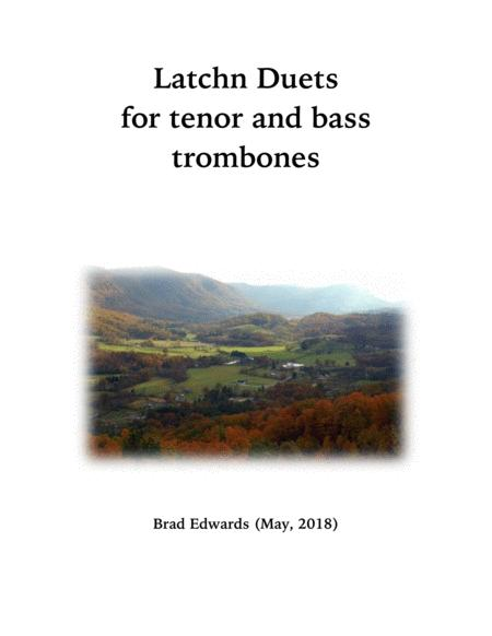 Latchn Duets for Tenor and Bass Trombone