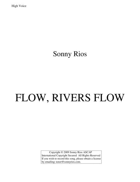 FLOW, RIVERS FLOW