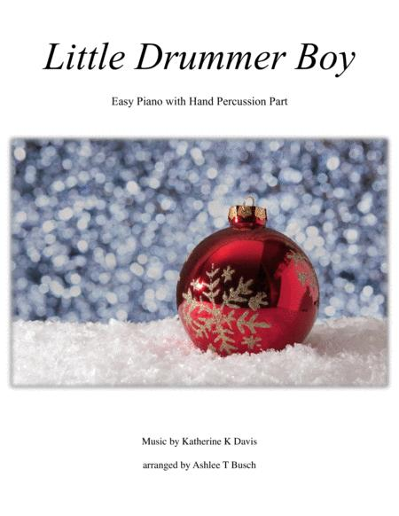 Little Drummer Boy for Easy Piano