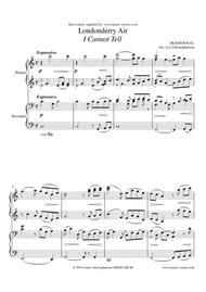 Londonderry Air - Piano Duet