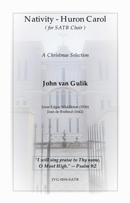 JVG-0016-SATB Nativity - Huron Carol