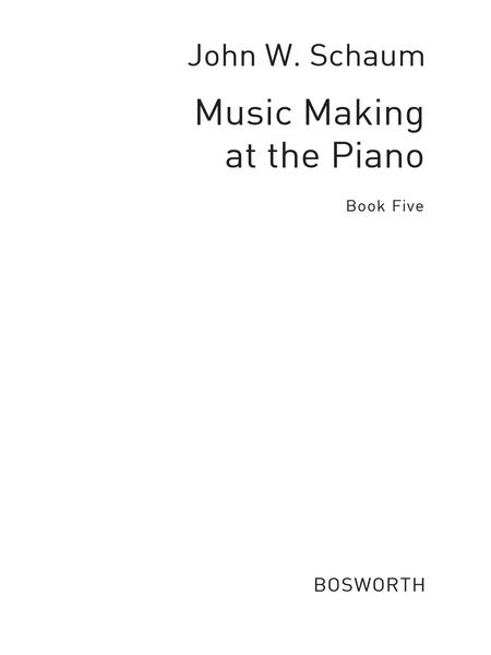 Music Making At The Piano Book 5 Level 4
