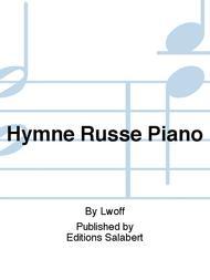 Hymne Russe Piano