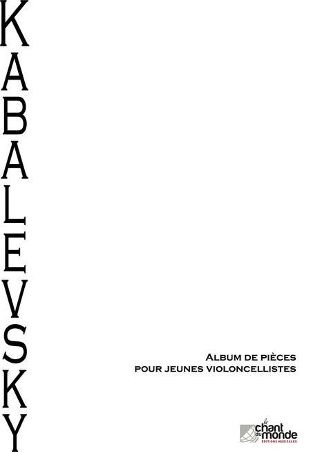 Album de Pieces Pour Jeunes Violoncellistes