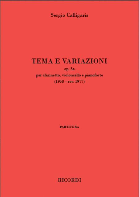 Tema e variazioni op. 5a