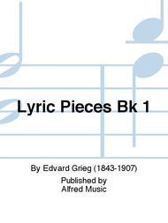Lyric Pieces Bk 1