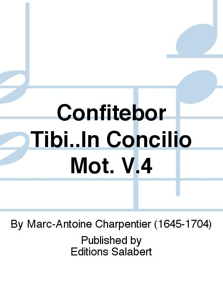 Confitebor Tibi In Concilio Mot V 4 By Marc Antoine Charpentier 1645 1704 Score Only Sheet Music For Voice And Piano Buy Print Music Bt Slb 00271500 From Editions Salabert At Sheet Music Plus