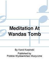 Meditation At Wandas Tomb