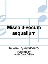 Missa 3-vocum aequalium