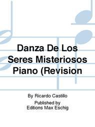 Danza De Los Seres Misteriosos Piano (Revision