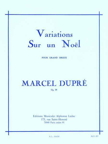 Variations Sur Un Noel Op20 - Orgue