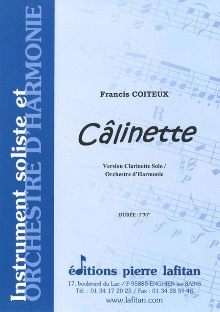 Calinette (Clarinette Solo et Orch. D'Hie)