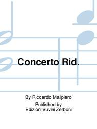 Concerto Rid.