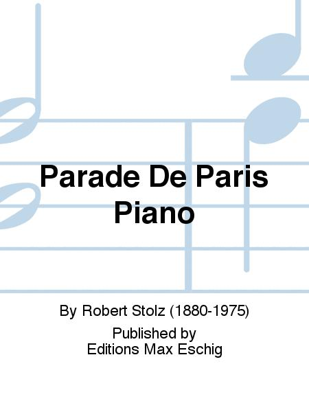 Parade De Paris Piano