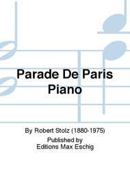 Parade De Paris Piano