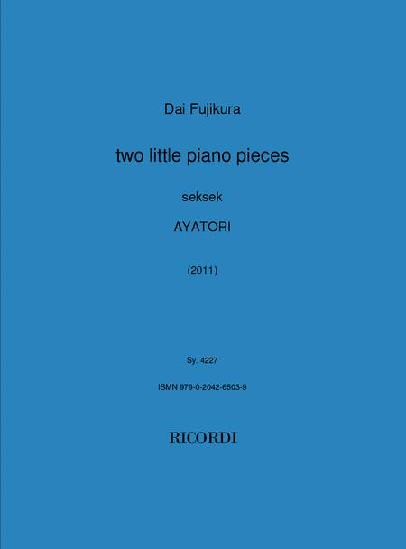 Two Little Piano Pieces