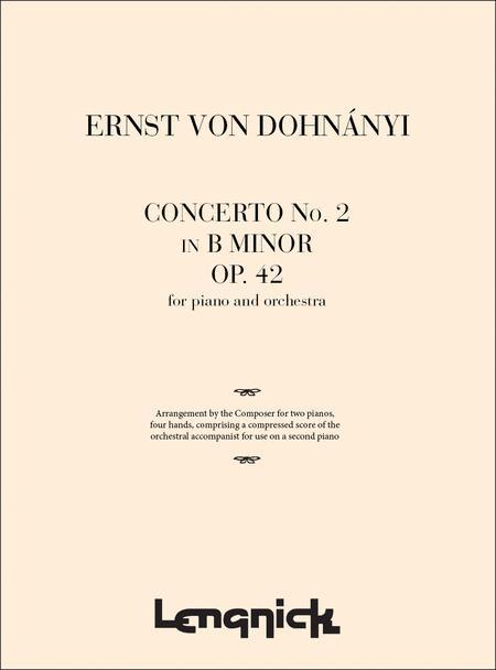 Concerto No. 2 In B Minor Op. 42