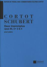 2 Impromptus Op.90 N 2 Et 4 (Cortot) Piano