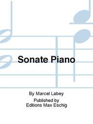 Sonate Piano