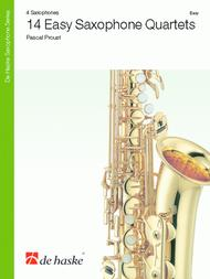 14 Easy Saxophone Quartets