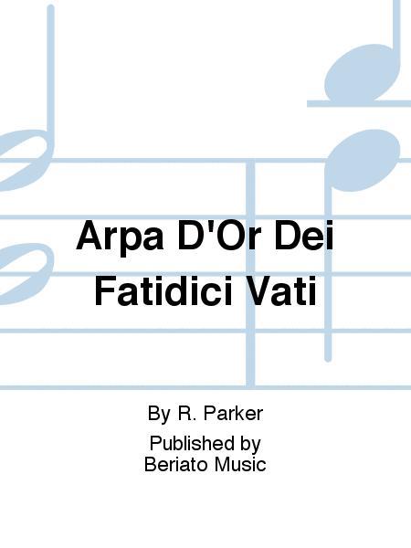 Arpa D'Or Dei Fatidici Vati