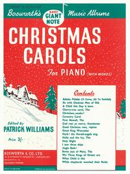 Christmas Carols For Piano With Words (Williams)