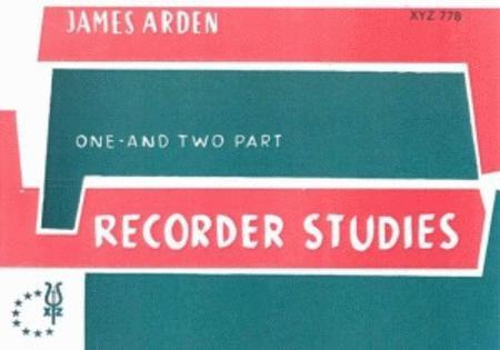 Recorder Studies 1-2