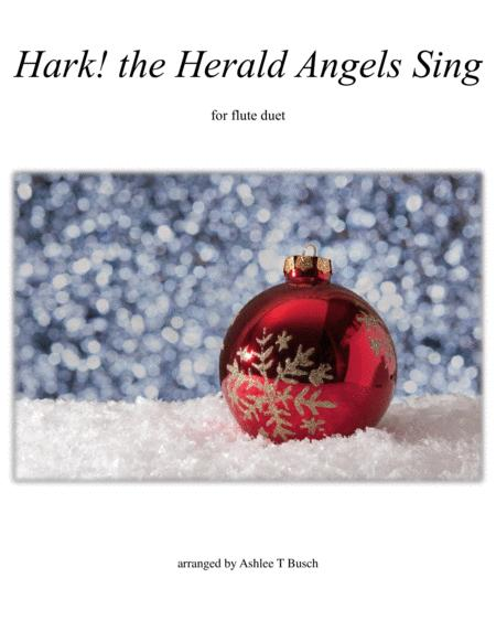 Hark! the Herald Angels Sing for Flute Duet